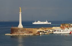 Port of Messina, Sicily Stock Images