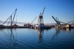 Port mexicain d'Ensenada photo stock