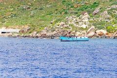 Port Mgarr na Gozo wyspie przy Malta obrazy royalty free