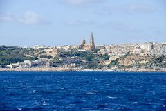 Port of Mgarr on the small island of Gozo - Malta. Port of Mgarr on the small island of Gozo, Malta Stock Image