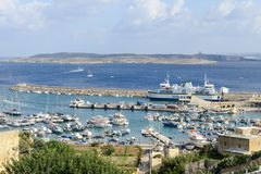 Port of Mgarr on the small island of Gozo - Malta. Port of Mgarr on the small island of Gozo, Malta Stock Photo