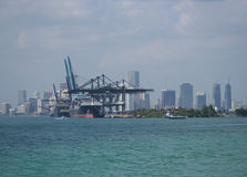 Port of Miami Royalty Free Stock Photos