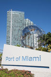 port miami Obrazy Royalty Free