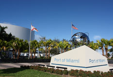 Port of Miami Stock Photo