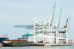 The Port of Miami Royalty Free Stock Photography