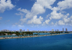 Port of Miami Royalty Free Stock Images