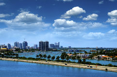 Port of Miami Royalty Free Stock Photography