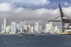 Miami skyline, South Florida Stock Photography