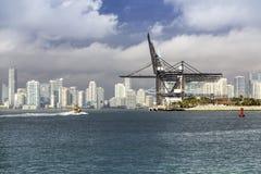 Miami skyline, South Florida Royalty Free Stock Photos