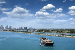 Port of Miami Stock Photography