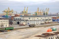 Port miasto święty Petersburg Zdjęcie Royalty Free