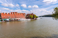 Port in Mikolajki, Masurian Lakes District Royalty Free Stock Image