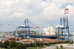 Port Of Mobile, Alabama Royalty Free Stock Images