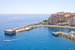 Port in Monaco Stock Photography