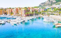 Port in Monaco Stock Image