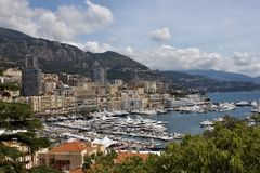 Port MONACO Stock Photography
