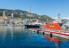 Port of Monte Carlo Stock Photo