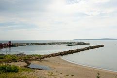 Port Morien - Nova Scotia - Canada. Port Morien in Nova Scotia - Canada royalty free stock photo