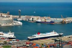 port morski Zdjęcia Stock