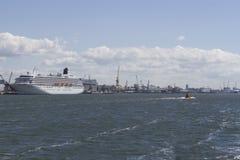 Port Morski Zdjęcia Royalty Free
