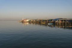 Port Morski Obrazy Royalty Free