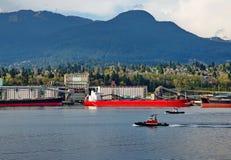 Port morski Północny Vancouver Zdjęcia Stock