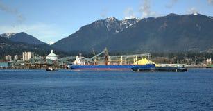 Port morski Północny Vancouver Zdjęcia Royalty Free