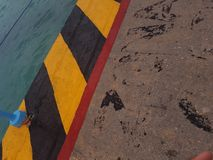 Port morski przy Cozumel zdjęcia stock
