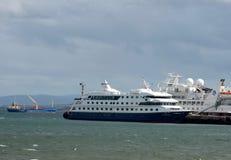 Port morski Punta Arenas w Chile Obrazy Stock