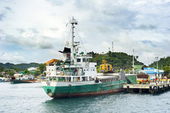 Port morski w Filipiny Zdjęcia Stock