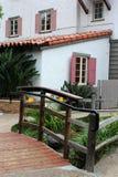 Port morski wioski architektura, Kalifornia Obraz Royalty Free