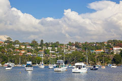 Port moyen, Sydney Photographie stock