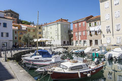 The port of Muggia royalty free stock photos