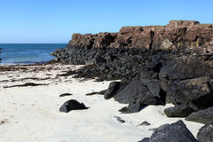 Port Na Ba beach, Isle of Mull Royalty Free Stock Images
