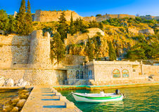 Port of Nafplion Stock Photos