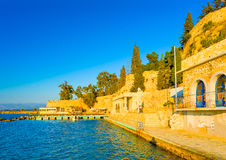 Port of Nafplion Royalty Free Stock Images