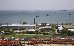 Port in Nakhodka. Primorsky Krai. Russia Royalty Free Stock Photos
