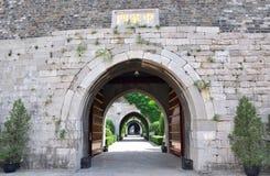 port nanjing zhonghua Royaltyfri Fotografi