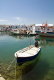 Port of Naoussa,  Paros island , Greece Stock Photo