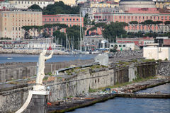 The Port of Naples, Italy Royalty Free Stock Images