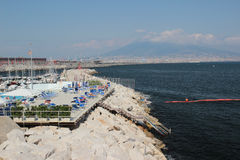 The Port of Naples, Italy Royalty Free Stock Photography