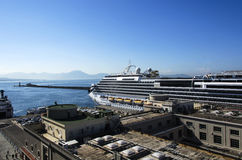 Port of Naples,Italy Stock Photos