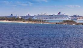 Port Nassau, Bahamas zdjęcie royalty free