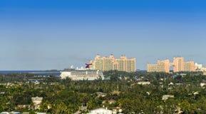 Port of Nassau, Bahamas Royalty Free Stock Photos