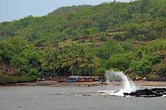 Port naturel Photo stock