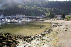 Port naturel de plage Images libres de droits