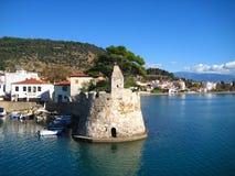 Port, Naupactus Grèce Photos stock