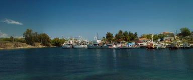 Port Nea Potidea - Greece Royalty Free Stock Photos