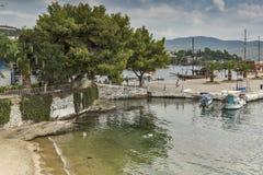 Port of Neos Marmaras , Chalkidiki,  Sithonia, Central Macedonia, Greece Stock Photos