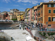 Port in Nervi Royalty Free Stock Photos